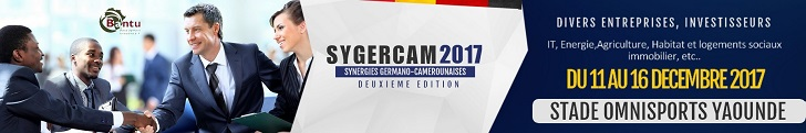 SYGERCAM 2017. Synergies Germano-Camerounaises.