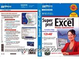 Dvd multimédia interactif - Super prof excel 2019 ; 12h 48 min.