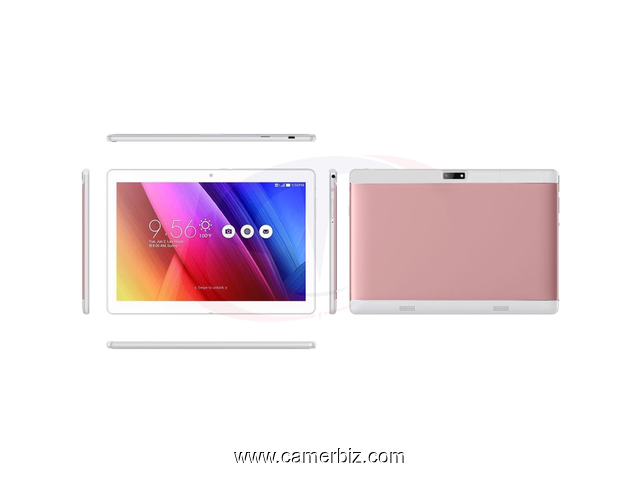 "Tablette Discover Note5 Plus Dual SIM- 10.1 "", 4 Go RAM - 64 Go ROM, Wi-Fi. + Powerbank + ecouteurs - 10673"