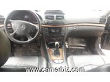 5,200,000FCFA-MERCEDES CLASSE E200-CDI-VERSION 2006-OCCASION EN OR! - 1371