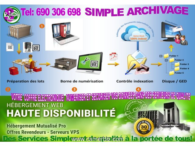 SAVE TIME AND STRESS THROUGH DIGITAL ARCHIVING WITH STRATEGIC INSTITUTE OF CAMEROON - 1378