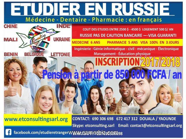 IT'S OUT AGAIN OHHHH!!!!! STUDENT VISA FOR RUSSIA - 1387