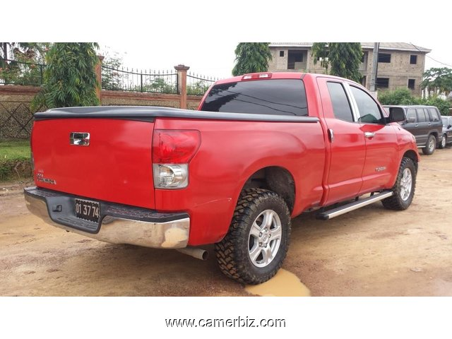 14,500,000FCFA-4X4WD PICKUP-TOYOTA TUNDRA  VERSION 2009-OCCASION DES ETATS UNIS-FULL OPTION - 1488