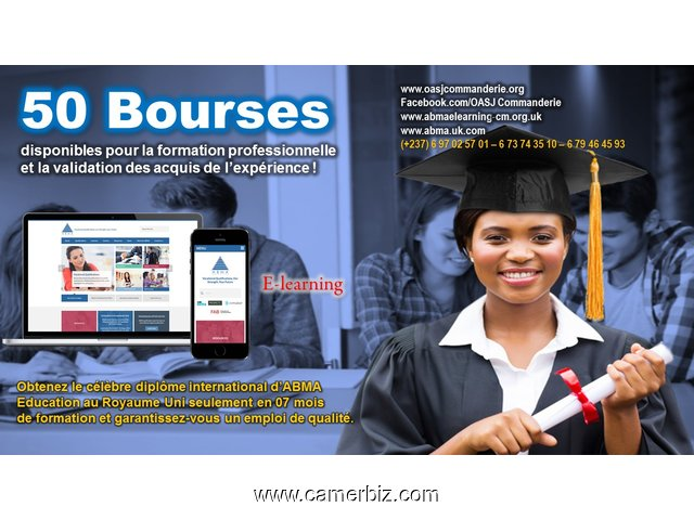 50 Bourses ABMA Education UK - 1590