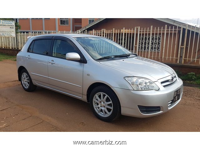 2007 model toyota corolla runx allex automatic for sale car yaounde cameroon. Black Bedroom Furniture Sets. Home Design Ideas