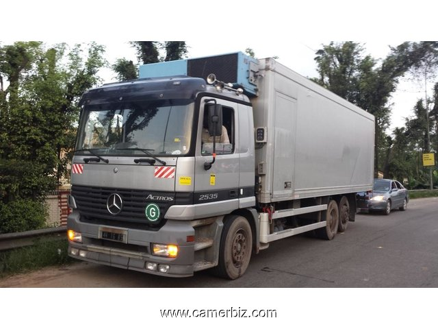 22 000 000fcfa camion mercedes actros 2535 frigoristique occasion d allemagne climatisee d. Black Bedroom Furniture Sets. Home Design Ideas