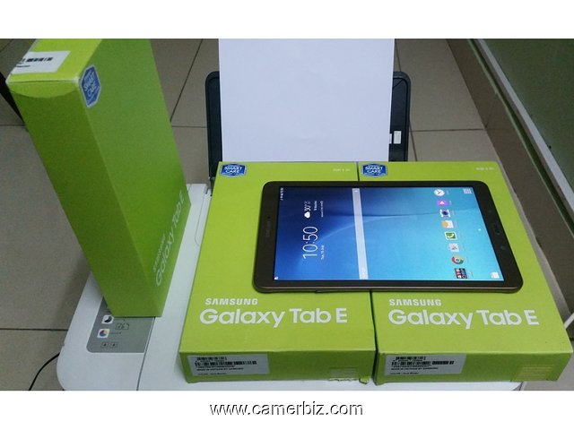 NEUF!!! 2017 Samsung Tablet E ( Avec Sim Card Support) A Vendre - 1799