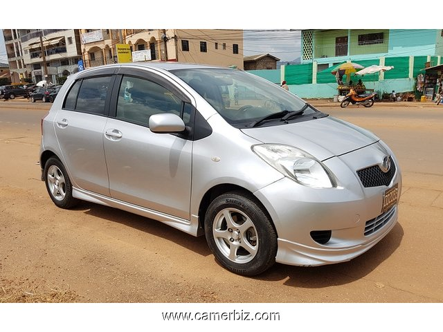 2007 full option toyota yaris a vendre automatique car yaounde cameroon. Black Bedroom Furniture Sets. Home Design Ideas