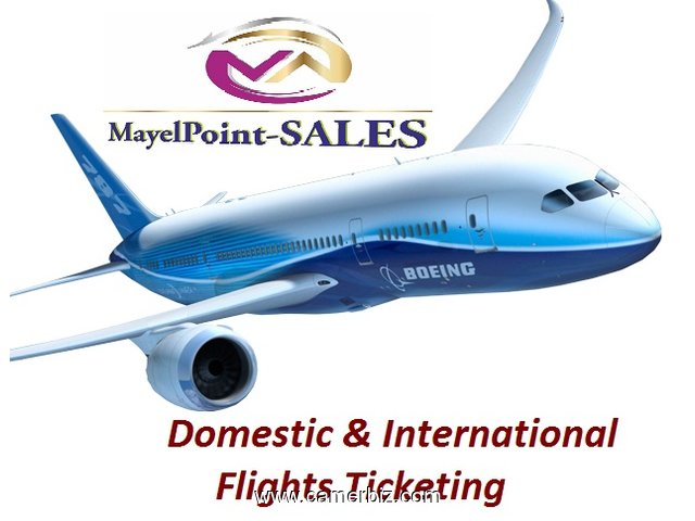 NEW IN MayelPoint-SALES!!!!!   SALES OF AIR TICKETS, HOTEL RESERVATION & DUBAI VISA ASSISTANCE - 1807