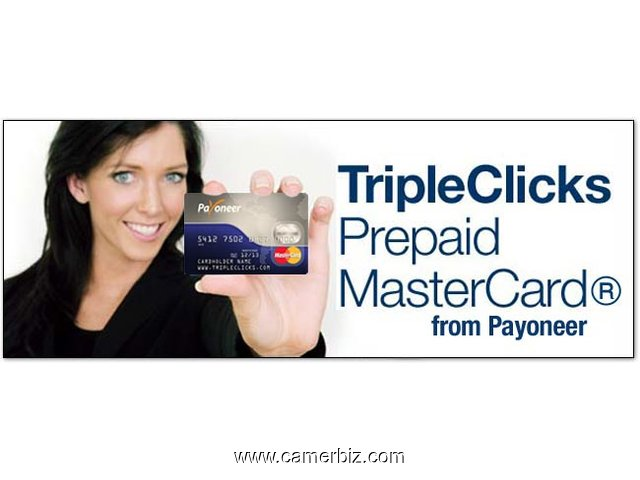 EARN A PAYONEER MASTERCARD WITH RESIDUAL AND LEVERAGED INCOME  - 1856