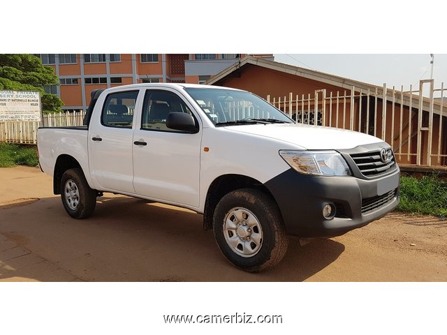 2016 TOYOTA HILUX DOUBLE CABIN FULL OPTION A VENDRE - 1901