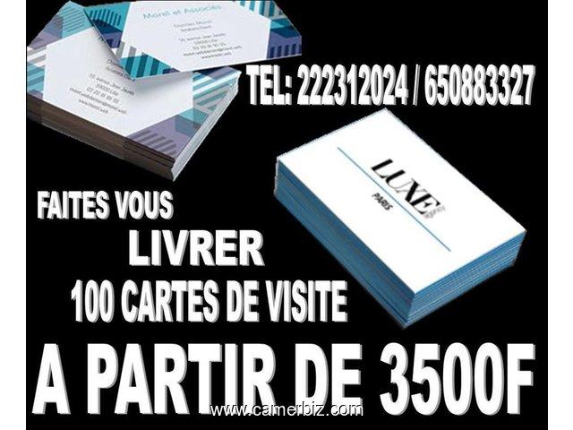 FABRICATION DE CARTE VISite Moindre Cout Dofe Sarl 691274641