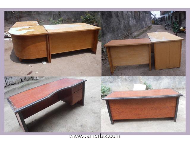 Table bureau en bois de « bibiga longueur cm largeur cm