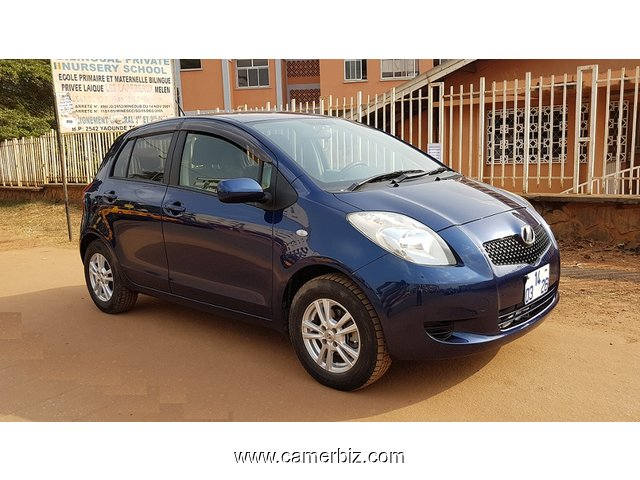 beautiful 2007 toyota yaris automatique full option for sale voitures yaounde cameroun. Black Bedroom Furniture Sets. Home Design Ideas