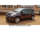 SUPER BELLE 2009 TOYOTA URBAN CRUISER (IST) FULL OPTION AUTOMATIQUE A VENDRE