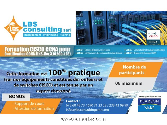 FORMATION CISCO CCNA - 2264