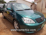 NirousAuto 2004 Toyota Corolla   Full Option Manual a   Vendre. - 2291