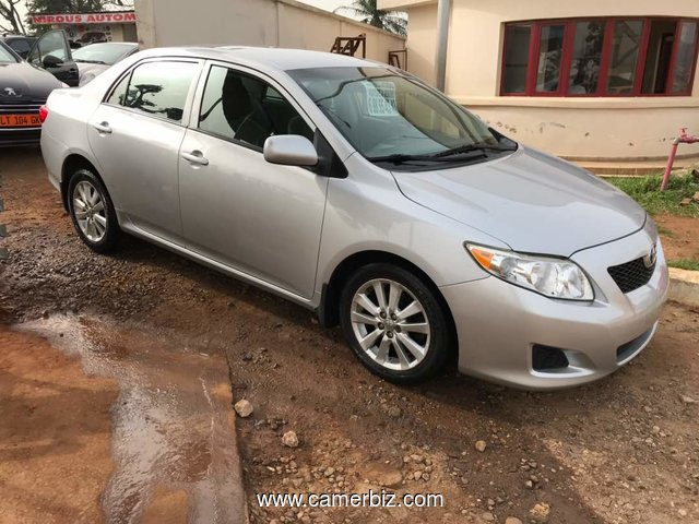 NirousAuto Toyota Corolla S MODEL 2010 Full Option Automatique A Vendre - 2322