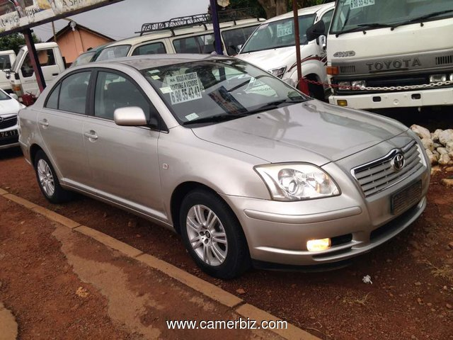 Nirous Auto 2005 Toyota Avensis Full Option Manuelle - A Vendre - 2340