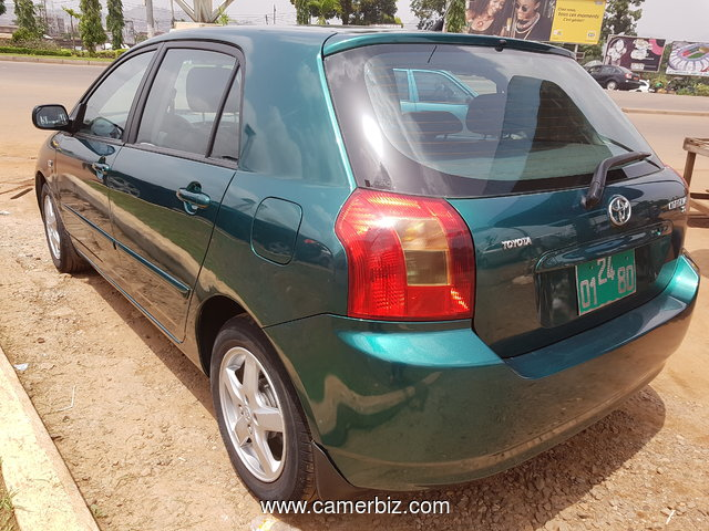 NirousAuto 2004 Toyota Corolla RUNX  Full Option Manual a Vendre. - 2341