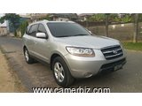 8,600,000FCFA-4X4WD HYUNDAI SANTA FE 2 VERSION 2008-OCCASION BELGIQUE- FULL OPTION A 8PLACES