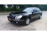 3,800,000FCFA-HYUNDAI SONATA-LIMITED-VERSION 2003-OCCASION DU CAMEROUN EN 100% FULL OPTION