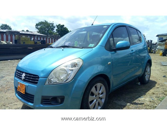3,900,000FCFA-SUZUKI SPLASH-2X4WD-VERSION 2009-OCCASION DU CAMEROUN-FULL OPTION 	 - 2409
