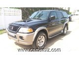 4,700,000FCFA-MITSUBISHI PAJERO SPORT-LIMITED 4X4WD VERSION 2001-OCCASION DU CONGO- FULL OPTION