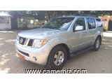 5,000,000FCFA-NISSAN PATHFINDER-4X4WD-VERSION 2008-OCCASION DU CAMEROUN- FULL OPTION A 8PLACES
