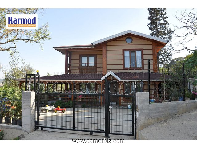 Two Storey Prefabricated Houses - 2433
