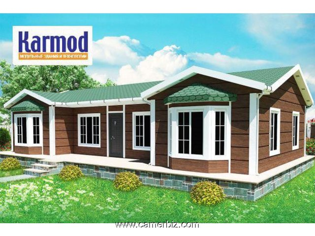Single Storey Prefabricated Houses - 2435