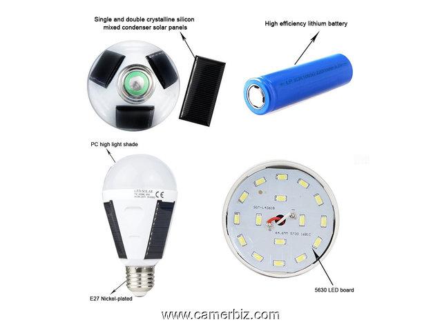 Intégré Rechargeable Panneau Solaire Lampe Avec trdQshC