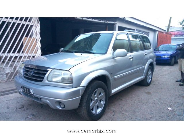 4,500,000FCFA-SUZUKI GRAND VITARA 4X4WD VERSION 2005-OCCASION DES ETATS UNIS  - 2722
