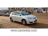 Belle 2007 Toyota Corolla Allex (Runx) Automatique Full Option A Vendre. - 2759