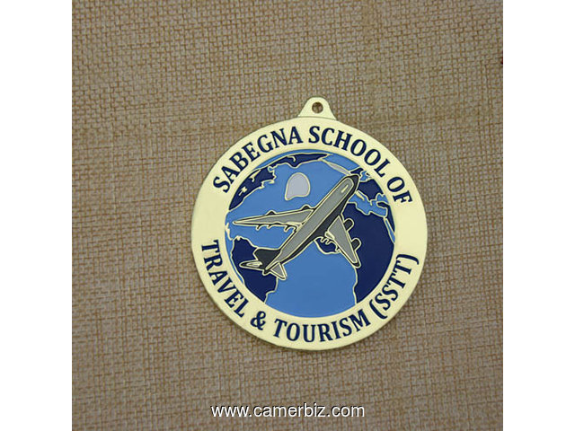 Sabegna School of Travel Tourism Custom medals - 2969