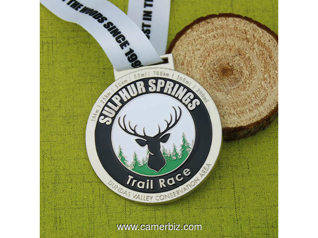 Sulphur Springs Trail Race Medals - 3063