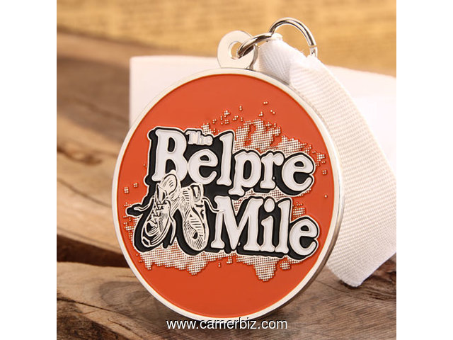 The Belpre Mile Running Medals - 3075