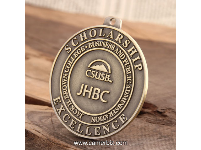 JHBC Custom Award Medals - 3107