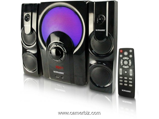SONASHI SPEAKERS BLUETOOTH+RADIO+REMOTE - 3245