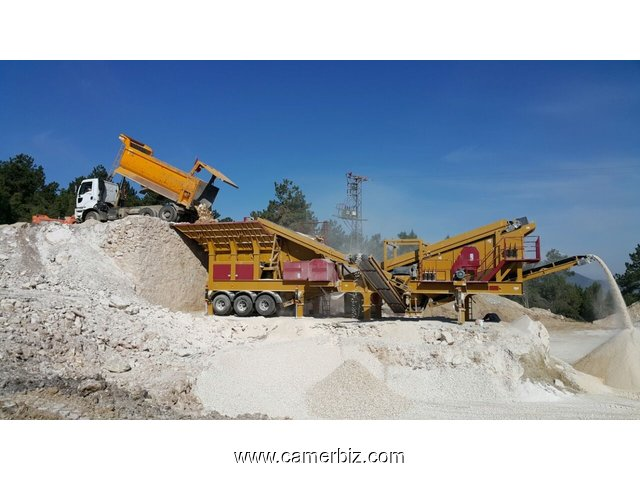 Mobile Crusher Plant for Sale - 3309