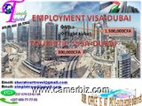 VISA INTERNATIONAL POUR DUBAI AVEC BILLET DAVION  /  DIRECT EMPLOYMENT VISA TO DUBAI - 3323