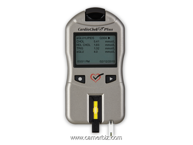 CARDIOCHEK CHOLESTEROL METER - MONITOR YOUR CHOLESTEROL - 3555