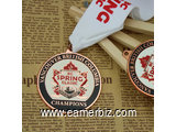 Hockey Tournament Custom Medals