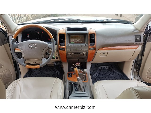 2005 LEXUS GX470 Full Option 4WD(4x4) a vendre - 3624