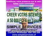 CREATION ET HEBERGEMENT DE SITES WEB - 3728