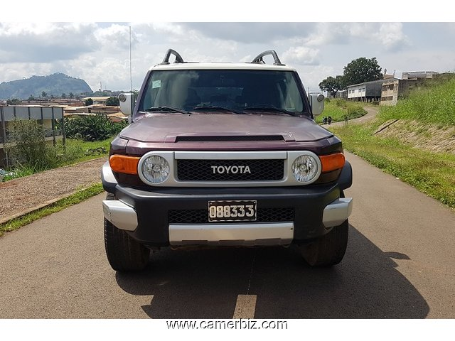 Belle 2010 Toyota FJ Cruiser Full Option 4WD(4x4) a vendre - 3734