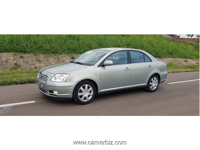 2005 Toyota Avensis Full Option a vendre - 3739