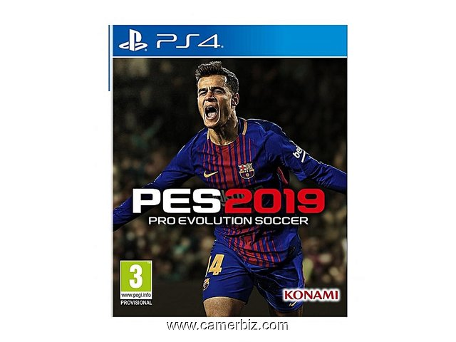 CD Jeux PES - Pro Evolution Soccer 2019   version française  - 3775