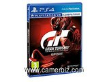CD JeuxGran Turismo Sport - PlayStation 4   version française
