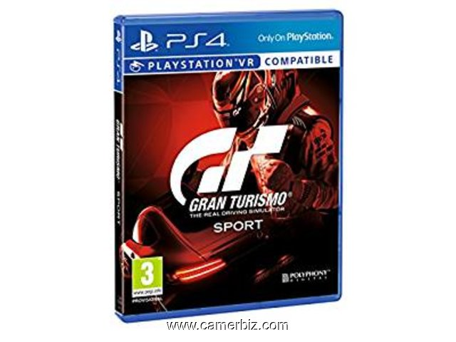 CD JeuxGran Turismo Sport - PlayStation 4   version française  - 3777